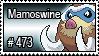 473 - Mamoswine by PokeStampsDex