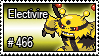 466 - Electivire by PokeStampsDex