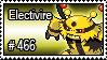 466 - Electivire by PokeStampsDex