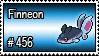 456 - Finneon by PokeStampsDex