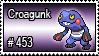 453 - Croagunk
