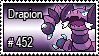 452 - Drapion by PokeStampsDex