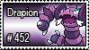 452 - Drapion by PokeStampsDex