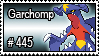 445 - Garchomp by PokeStampsDex