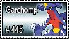 445 - Garchomp by PokeStampsDex