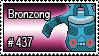 437 - Bronzong by PokeStampsDex