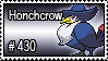 430 - Honchcrow by PokeStampsDex