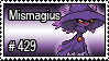 429 - Mismagius by PokeStampsDex