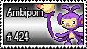 424 - Ambipom by PokeStampsDex