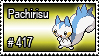 417 - Pachirisu by PokeStampsDex