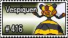 416 - Vespiquen by PokeStampsDex