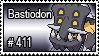 411 - Bastiodon by PokeStampsDex