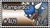 409 - Rampardos by PokeStampsDex