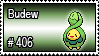 406 - Budew by PokeStampsDex