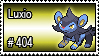 404 - Luxio by PokeStampsDex