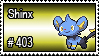 403 - Shinx by PokeStampsDex