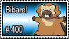400 - Bibarel by PokeStampsDex