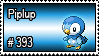 393 - Piplup by PokeStampsDex