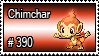 390 - Chimchar by PokeStampsDex