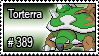 389 - Torterra by PokeStampsDex