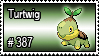 387 - Turtwig by PokeStampsDex