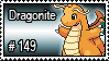 149 - Dragonite by PokeStampsDex