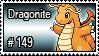 149 - Dragonite by PokeStampsDex