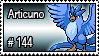144 - Articuno by PokeStampsDex