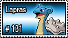 131 - Lapras by PokeStampsDex