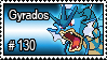 130 - Gyrados by PokeStampsDex