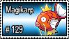 129 - Magikarp by PokeStampsDex
