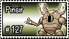 127 - Pinsir by PokeStampsDex