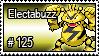 125 - Electabuzz by PokeStampsDex