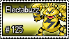 125 - Electabuzz by PokeStampsDex