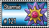 121 - Starmie by PokeStampsDex