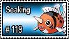 119  -Seaking by PokeStampsDex