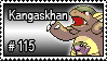 115 - Kangaskhan by PokeStampsDex