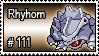 111 - Rhyhorn