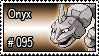 095 - Onyx by PokeStampsDex