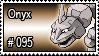 095 - Onyx by PokeStampsDex