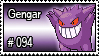 094 - Gengar by PokeStampsDex