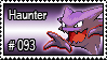 093 - Haunter by PokeStampsDex