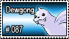 087 - Dewgong by PokeStampsDex