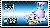 086 - Seel by PokeStampsDex