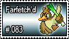 083 - Farfetch'd by PokeStampsDex