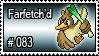 083 - Farfetch'd by PokeStampsDex