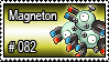 082 - Magneton by PokeStampsDex