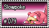 079 - Slowpoke by PokeStampsDex