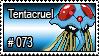 073 - Tentacruel by PokeStampsDex