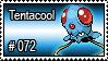 072 - Tentacool by PokeStampsDex